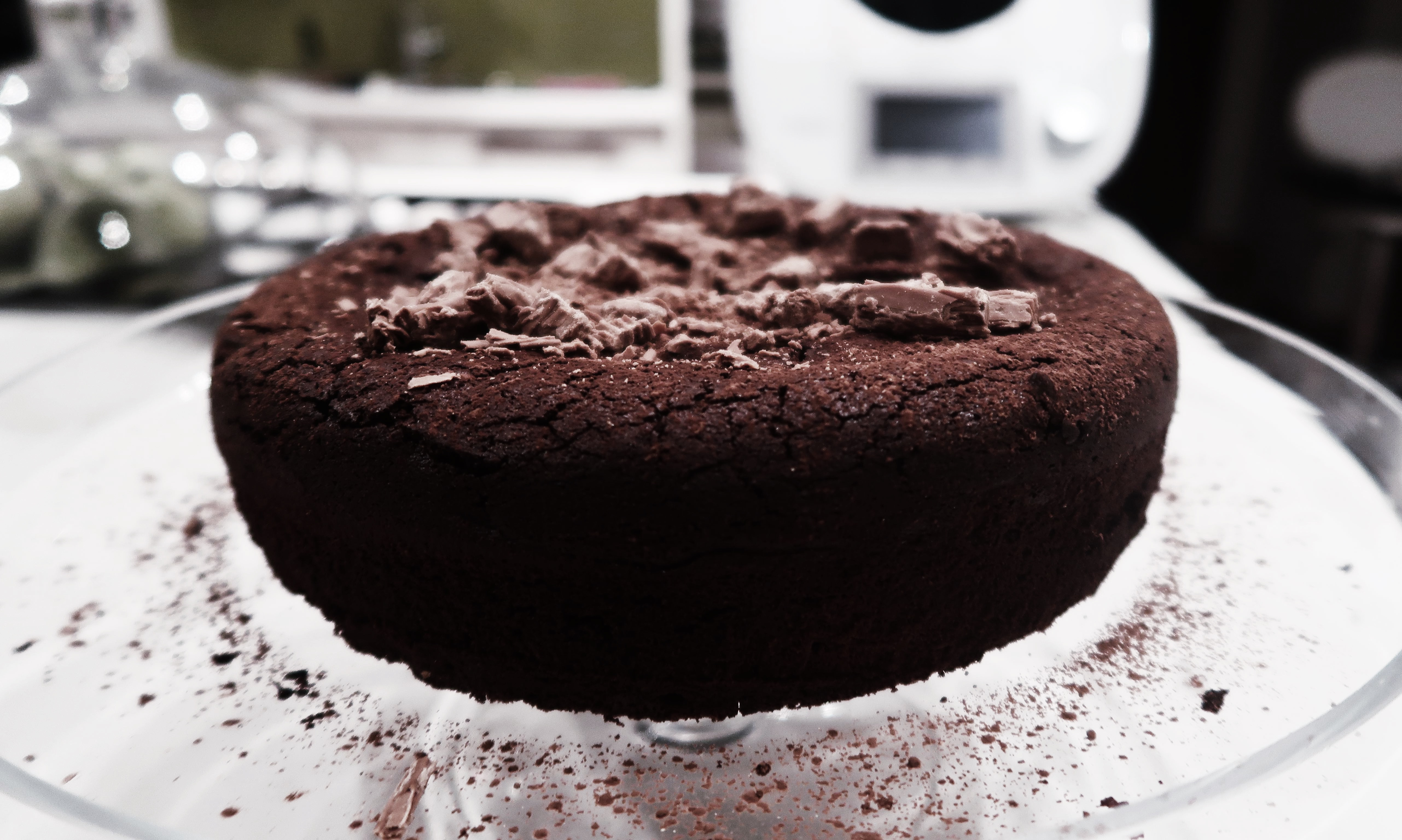 'to die for' chocolate cake.