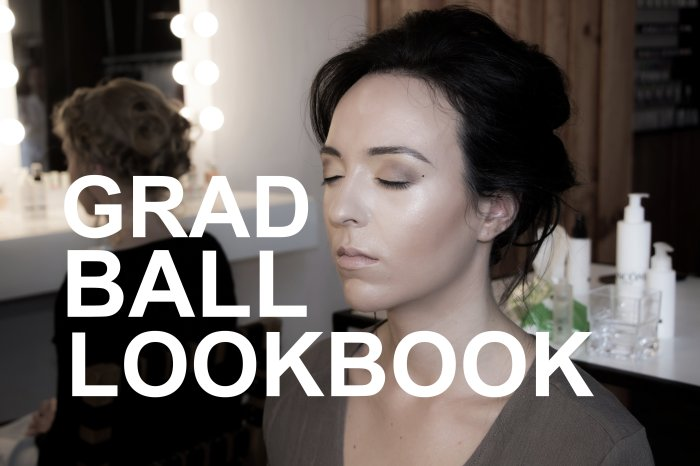 GRAD BALL LOOKBOOK COVER