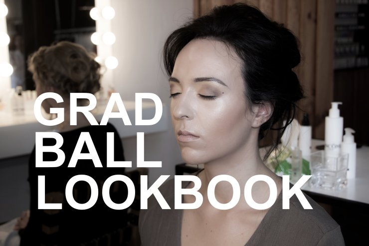 GRAD BALL LOOKBOOK COVER