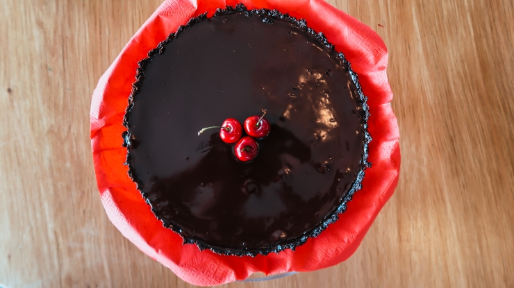Glazed Chocolate Tart (1 of 6)