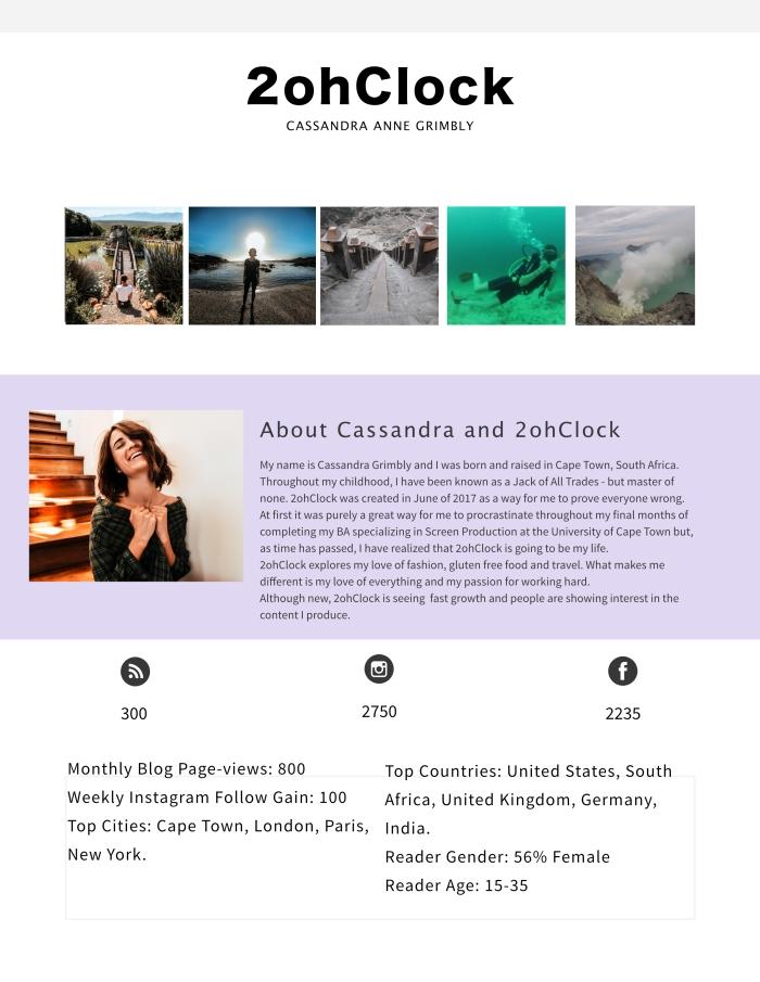 2ohClock Media Kit
