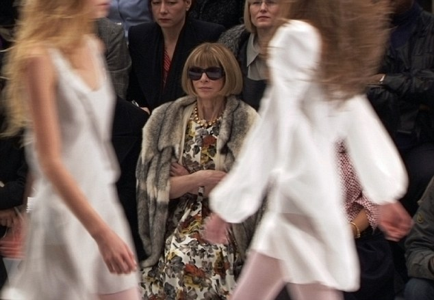 Anna Wintour in R. J. Cutler's THE SEPTEMBER ISSUE