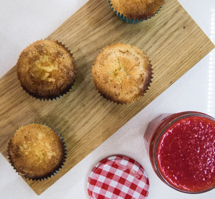 Lemon Tarts with Rasberry Sauce (14 of 19)